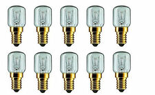 10x 15W E14 T22 Pygmy Light Bulbs Dimmable Appliance Lamp SES