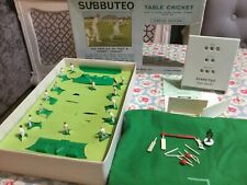 More details for subbuteo table cricket display edition + scoreboard, pitch and sight screens