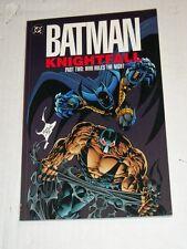 DC Batman Knightfall Part 2 WHO RULES THE NIGHT TPB Trade Paperback