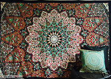 Indian Hippie Star Mandala Psychedelic Twin Wall Hanging Tapestry Throw Queen UK