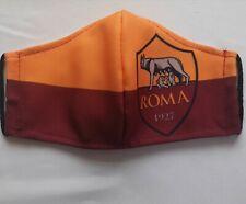 Mascherina As Roma uomo donna bambino filtro in tnt squadra  calcio