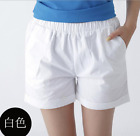 Women Summer Plus Size Ladies Sports Shorts Cotton Hot Pants Casual Beach Shorts