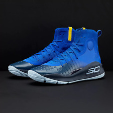 a2a0717dcfe Under Armour Curry 4 Dub Nation Away Warriors Size 8. 1298306-401 MVP Steph