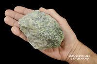 "Nephrite Jade 4 1/2"" 13-19 Oz Rough Rock Mineral Specimen Chakra Healing Stone"