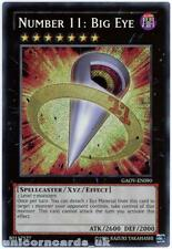 GAOV-EN090 Number 11: Big Eye Secret Rare UNL Edition Mint YuGiOh Card