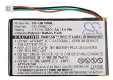 NEW Battery Garmin Nuvi 750 755 755T GPS 3.7V 1250mAh 010-00583-00 CS-IQN750SL