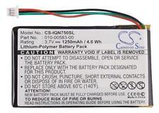 Battery for Garmin Nuvi 765 710 755 760t 010-00583-00 010-00657-05 CS-IQN750SL