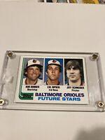 1982 Topps Cal Ripken Jr. Rookie Mint! RC #21 Orioles HOF
