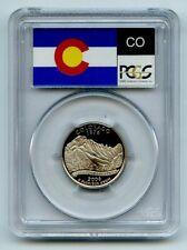 2006 S 25C Clad Colorado Quarter PCGS PR70DCAM
