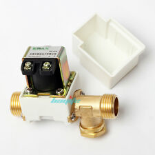 12V DC Electric Solenoid Valve Water Air Outside 1/2