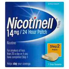 5 X Boxes Nicotinell 14mg 24 Hour Patch 7 Patches Step 2