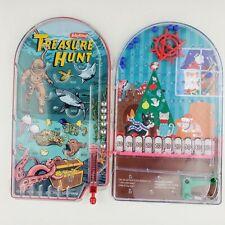 Treasure Hunt Handheld Pinball Game Toy Retro Sea Diving Schylling + X-Mas Game