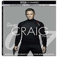 007: The Daniel Craig 4-Film Collection (4K Ultra HD + Blu-ray + Digital Copy)