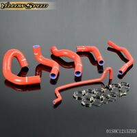 For 05-10 Ford Mustang Gt/Shelby V8 Mt Silicone Radiator Hose Temp Piping