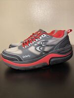 Gdefy Gravity Defyer Shoes Mens Size 10.5 Grey And Red Comfort shoes