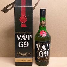 Vat 69 Whisky ca. 1970er Jahre 43 % Alkohol Epikur Import Originalverpackung