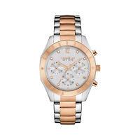 Caravelle New York Women's 45L156 Quartz Crystal Chronograph Two-Tone 36mm Watch