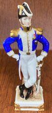 Vtg Exelmans Old Dresden Scheibe-Alsbach Porcelain Napoleonic General Figurine