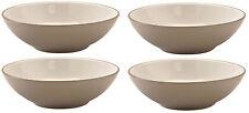 Price & Kensington Cosmo Opaco Taupe Set di 4 Ciotola per Cereali/Zuppa 18cm