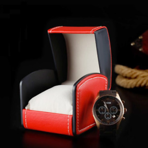 120x Red Single Watch Gift Box Pillow PU Leather Mens Wristwatch Display Case