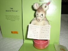Steiff Mouse Tailor Beatrix Potter Series Ltd Ed Boxed new Rare 354236