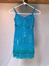 Arabian Blue Youth & Adult Jazz/Tap/Musical Theatre Dance Costume
