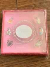 New Disney Store Exclusive Princess Princesses Charms Bracelet Jewelry Box