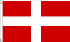 Sovereign Military Order of Malta SMOM Polyester Flag - Choice of Sizes
