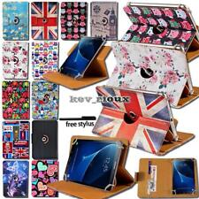 For Various Samsung Galaxy Tab 2/3/4 Tablet Leather Rotating Stand Cover Case