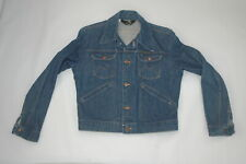 Wow! Awesome Vintage Blue Bell Maverick Wrangler Jean Jacket Size 40 Made In Usa