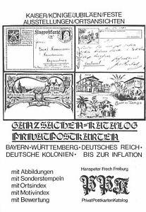 Hanspeter Frech: PrivatPostkartenKatalog