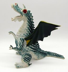 Vintage 1983 Imperial Blue Winged Dragon Dragons Knights & Daggers Figure Rare