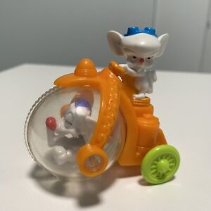 Vintage 1993 McDonald's Animaniacs Pinky And The Brain Mobile Happy Meal Toy