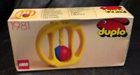 Lego Duplo Baby Infant Toddler Rattle  Vintage 1981 New In Box