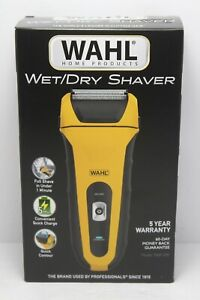 Wahl Wet/Dry Waterproof Shaver w/Precision Trimmer Razor Wireless Rechargable