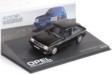 1983 / 1984 Opel Kadett D GT/E black schwarz 1:43 IXO Altaya Collection