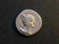 ROMAN REPUBLIC - Ar Denarius of C. Postumius Ta… (or At…), 74 BC., S-330, NVF