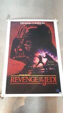 Star Wars Revenge of the Jedi signed in person autograph movie poster BAS COA