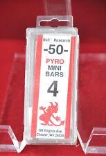 1 box # 4 Pyro Mini Bars Bell Research these shud down kiln when firing done USA