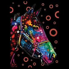 Horse Neon Black Light    Hoodie   Sizes/Colors