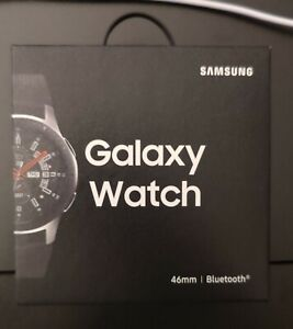 Samsung Galaxy Watch SM-R805 46mm Silver Case Classic Buckle Onyx Black - LTE (…