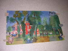 1960.lithographie Raoul DUFY Paddock Deauville 62/100cm
