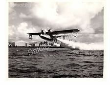 WWII Historic US Navy Aircraft  Consolidated Catalina PBY-5 Official Photo 8x10