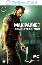 Max Payne 3 Complete Edition - PC GAME - STEAM Digital Code Action NEU [DE/EU]