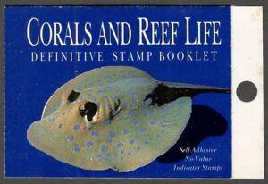 AOP Singapore 1994 Coral Reef stamp booklet