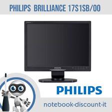 Monitor PHILIPS BRILLIANCE 17S1SB/00  Schermo 17