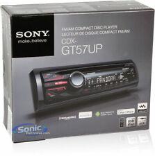 Sony CDX-GT57UP Full-Din FM/AM In Dash Digital Car Stereo Radio CD PlayerNEW