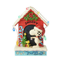 Jim Shore Peanuts 'Merry and Bright' - Snoopy by Dog House 6002771