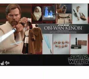 1/6 Star Wars Revenge of the Sith Obi-Wan Kenobi Figure MMS478 Deluxe Hot Toys