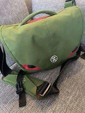 Crumpler camera bag (green/gently used)